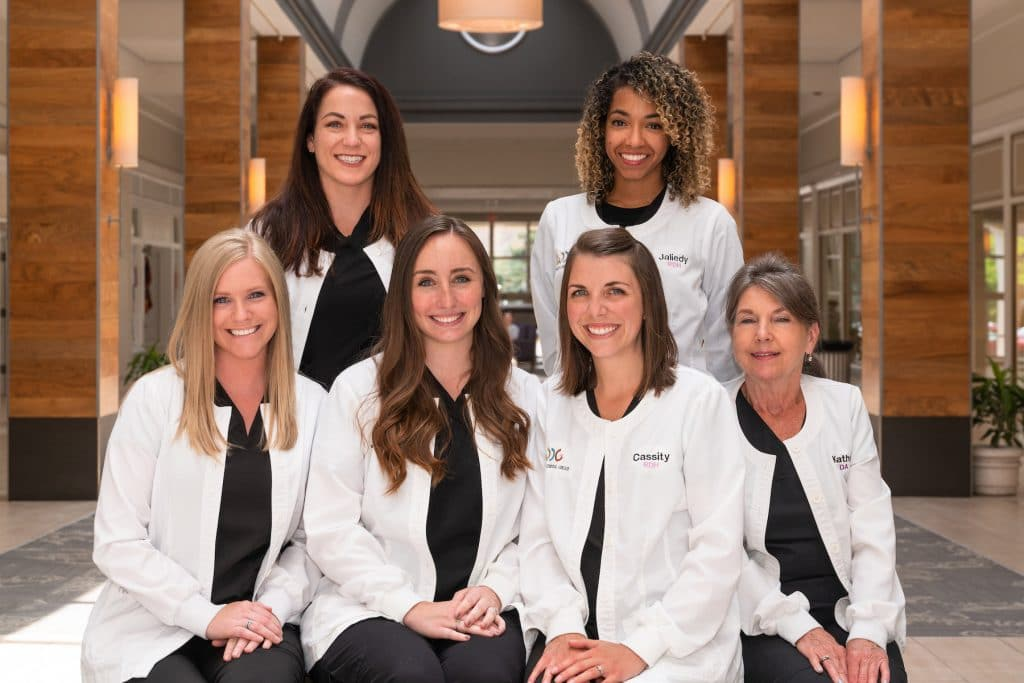 Our highly-trained hygienists and assistants.